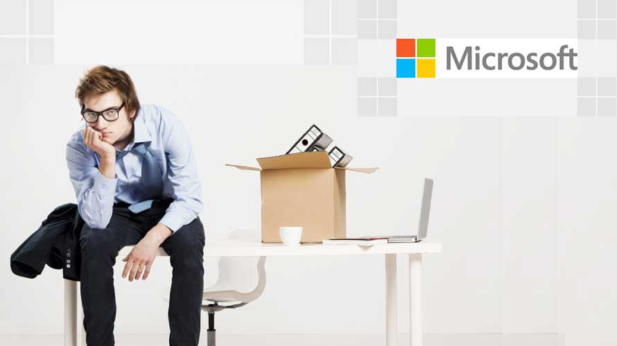 microsoft plans on layoff of thousands