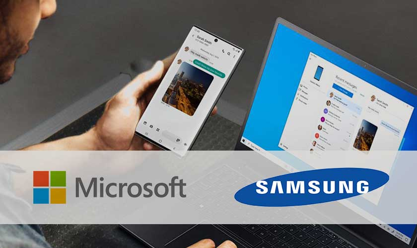 microsoft samsung partnership announcement