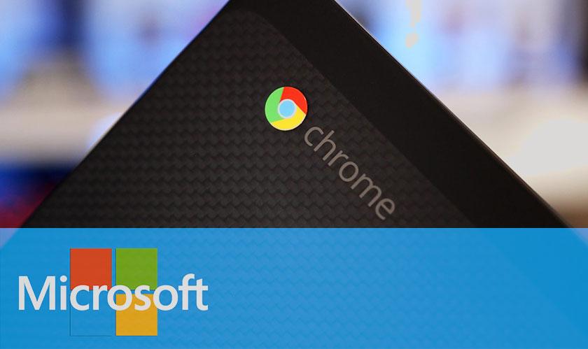 Microsoft makes Google Chrome run better on Windows