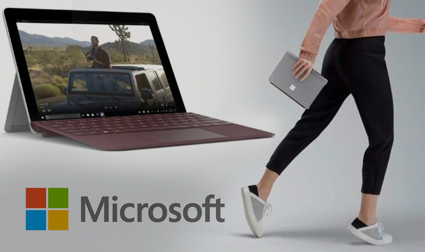 It's a Go; the new Microsoft Surface Go reaches stores