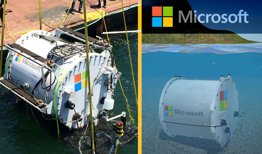 data analytics microsoft underwater data center