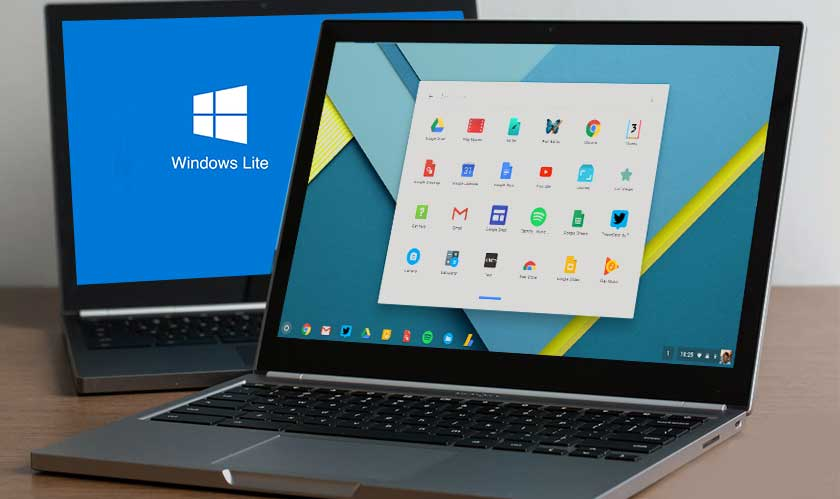 New Microsoft Windows styled like Chrome OS for dual screens