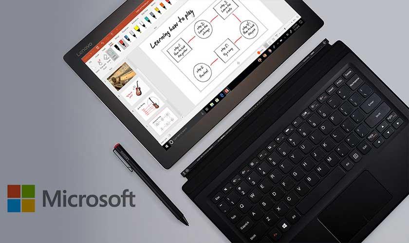 microsoft windows10 tablet os