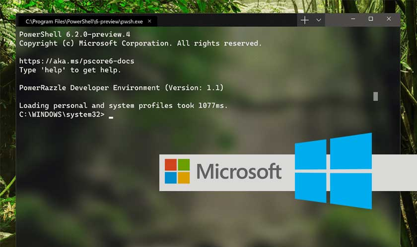 You can now download Microsoft Windows Terminal