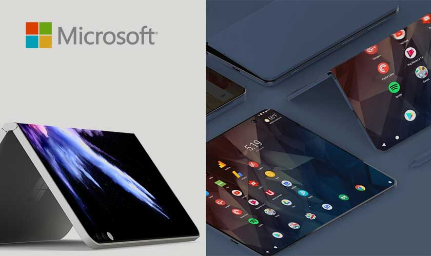 microsoft working on foldable devices