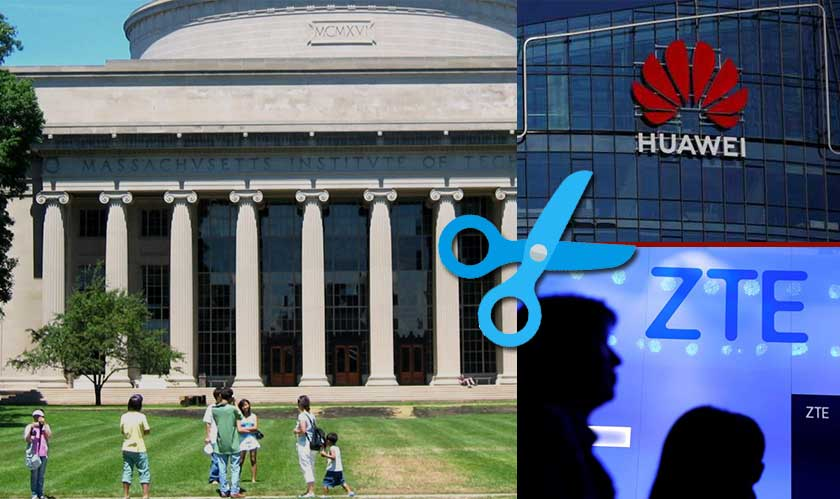 MIT has severed ties with China's Huawei and ZTE