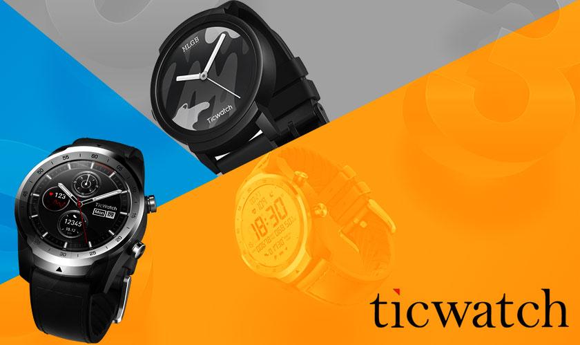 TicWatch Pro is Mobvoi's Premium Smartwatch with Longer Battery-Life