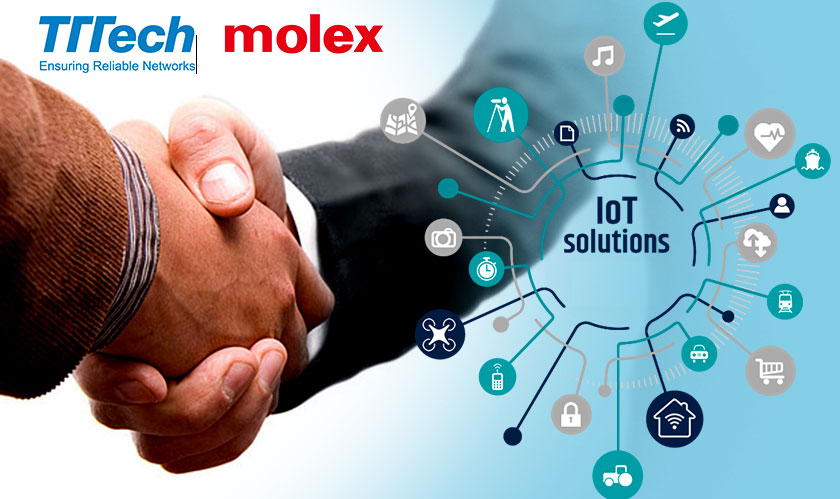 Molex and TTTech shake hands to build more industrial IoT solutions