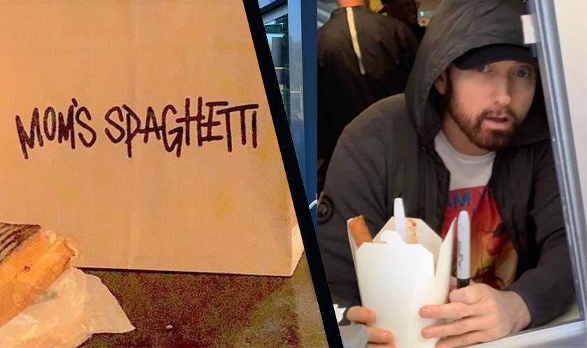 Eminem opens an Italian restaurant in Detroit, named it 'Mom's Spaghetti'