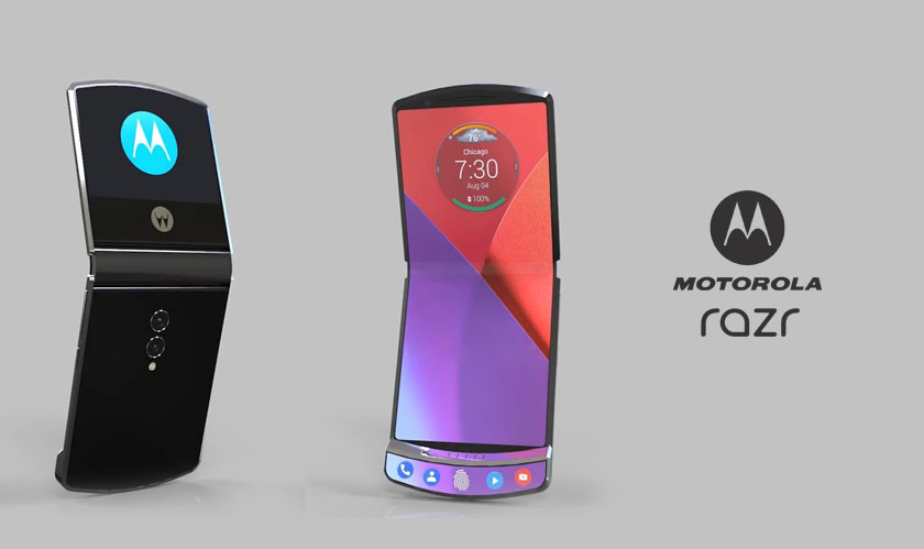 Moto Razr makes a comeback, this time as a foldable smartphone