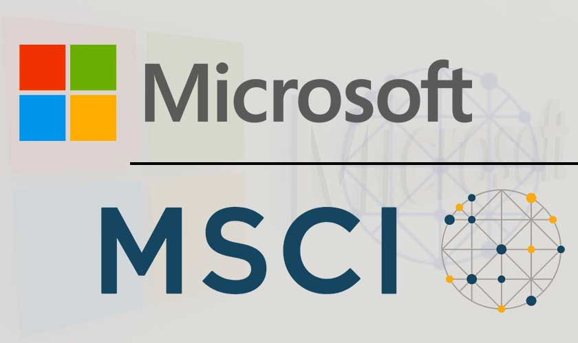 MSCI, Microsoft Alliance to Innovate for Global Investment Industry