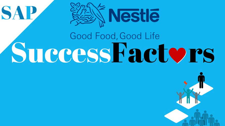 Nestlé uses SAP's SuccessFactors for Employee Management