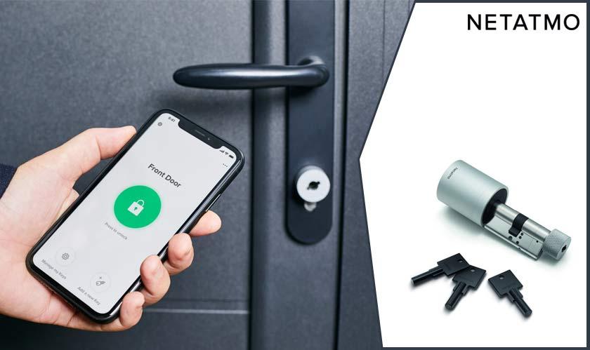 security netatmo to introduce smart door lock