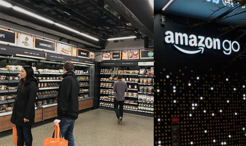 Downtown Seattle gets to host Amazon's new cashier-less store