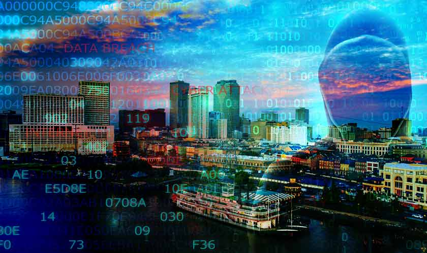cyber security new orleans under cyberattack