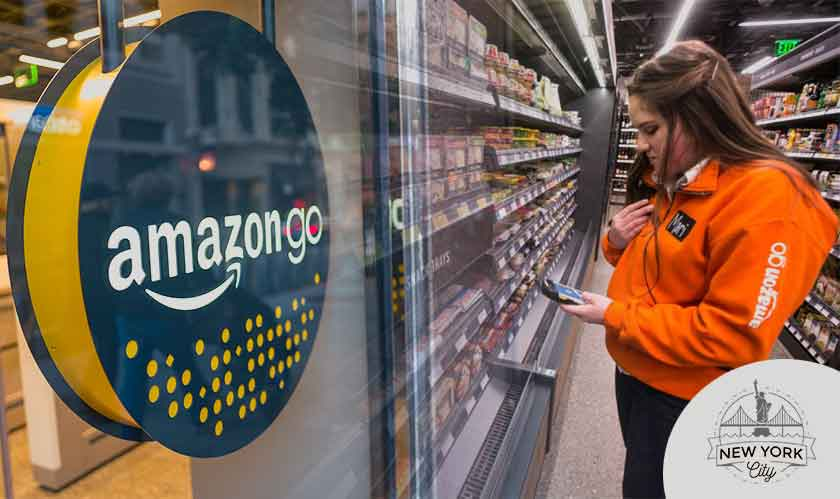 Amazon Go store in New York city accepts cash!