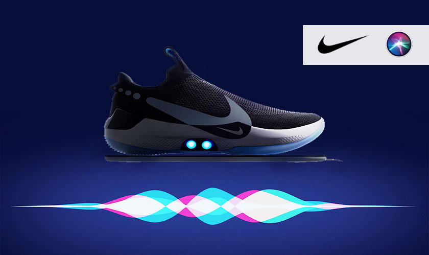 Nike associates with Siri to untie the new shoes