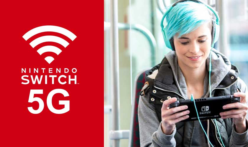 Nintendo's new area of focus: 5G technology