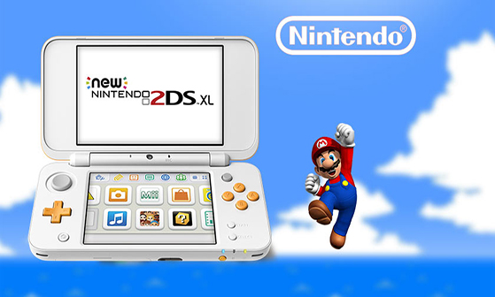 Nintendo releases 2DS XL, a handheld portable gaming system