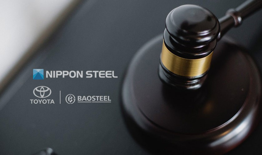 Nippon Steel sues Toyota and Baoshan for patent infringement