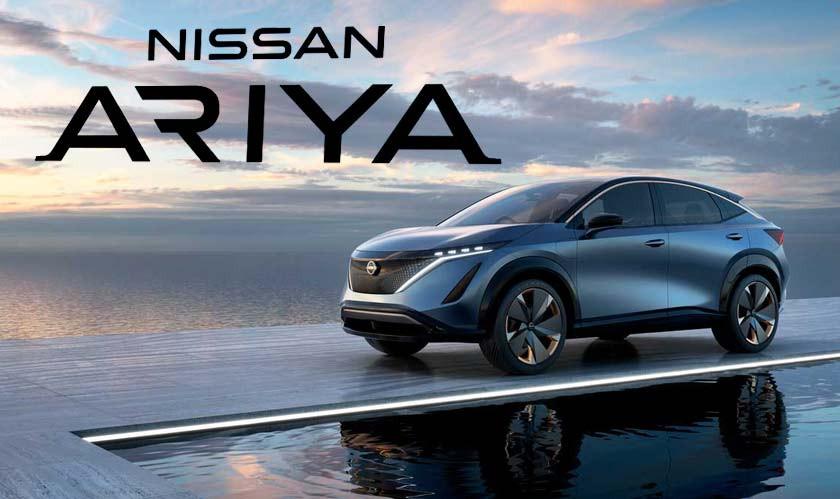 Nissan shows off its upcoming electric SUV,Ariya