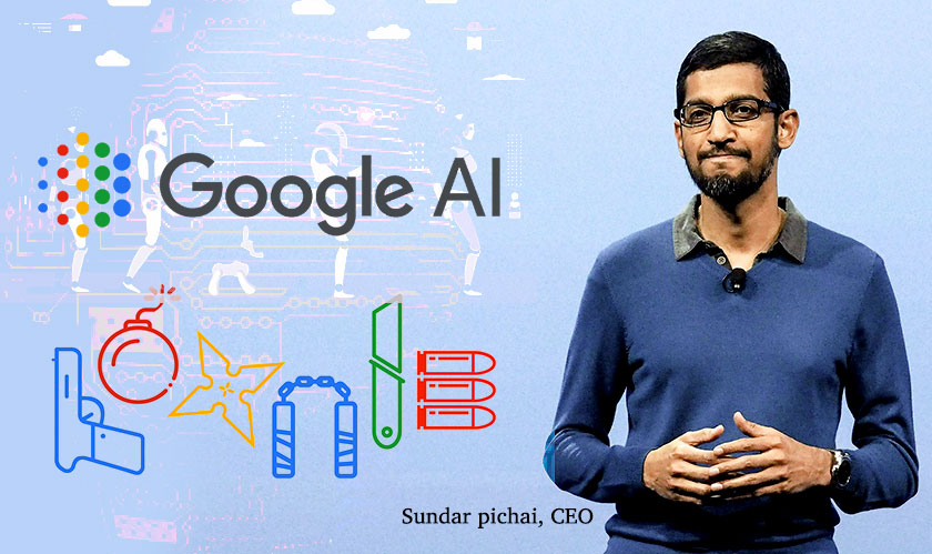 """Google Will Not Support the Development of AI in Weaponry,"" Pichai"
