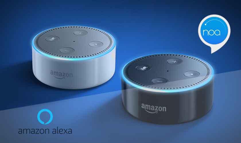 Alexa streams news read by human narrators using Noa's new feature