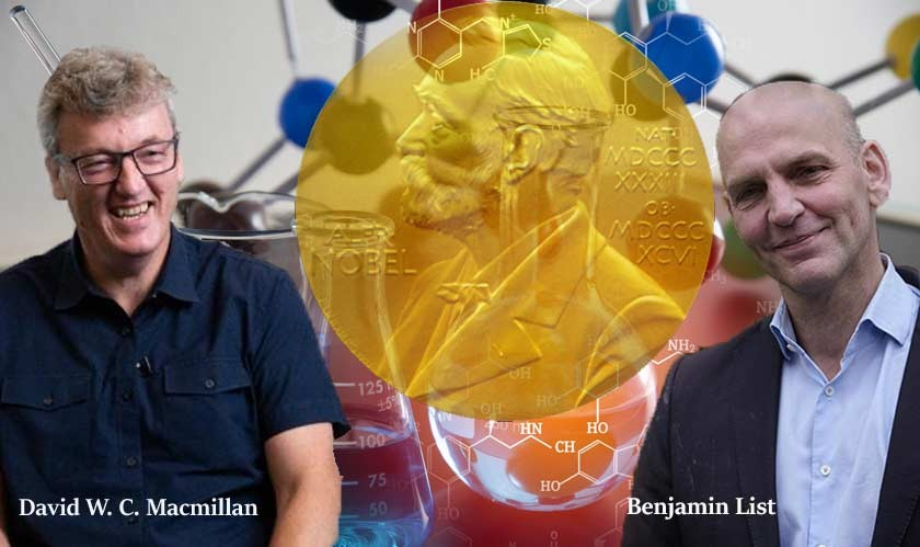 2021 Nobel Prize in Chemistry awarded to duo for development of 'Organocatalysis'