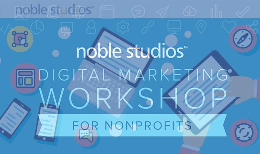Noble Studios arranged free workshop for Nonprofits