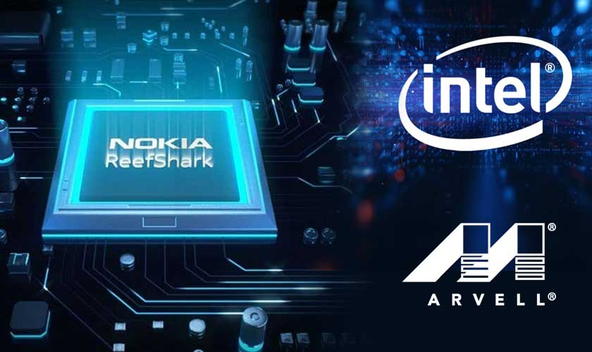 Nokia collaborating with Intel and Marvell for ReefShark Chips