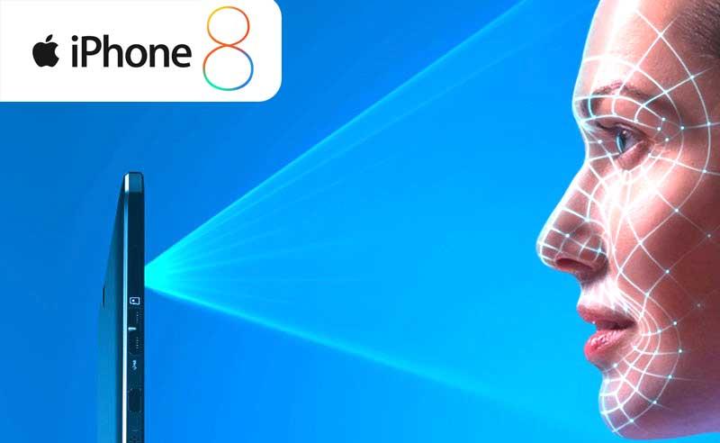 not fingerprints but a 3d facial scan for iphone 8