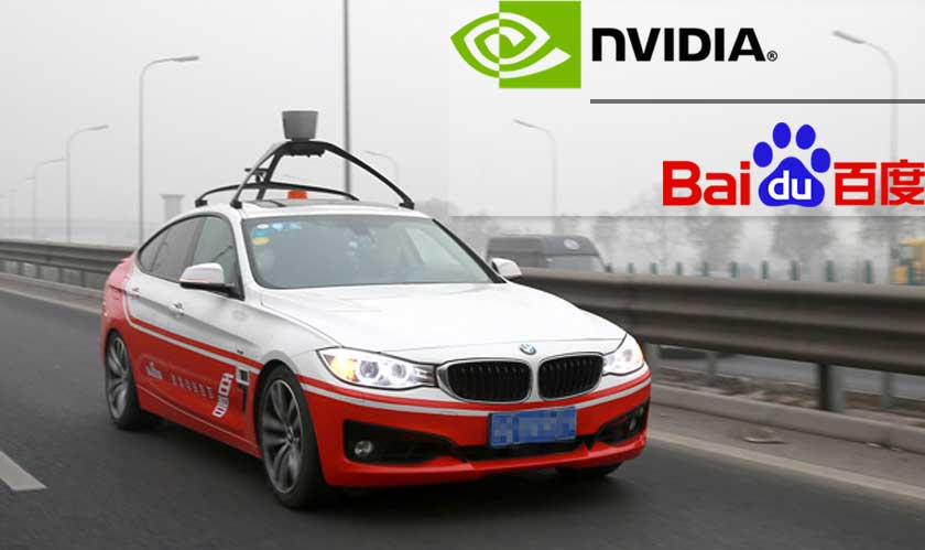 Nvidia and Baidu team up for AI