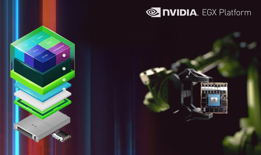 NVIDIA EGX AI Platform gets a Boost