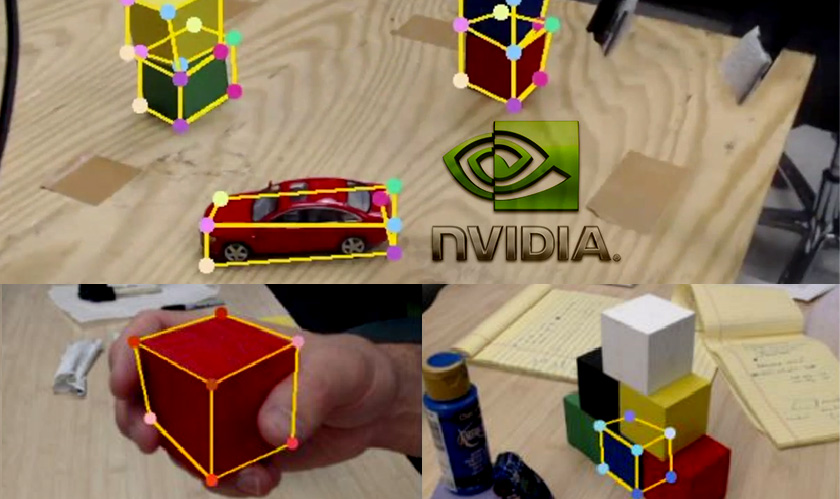 it services nvidia training robots