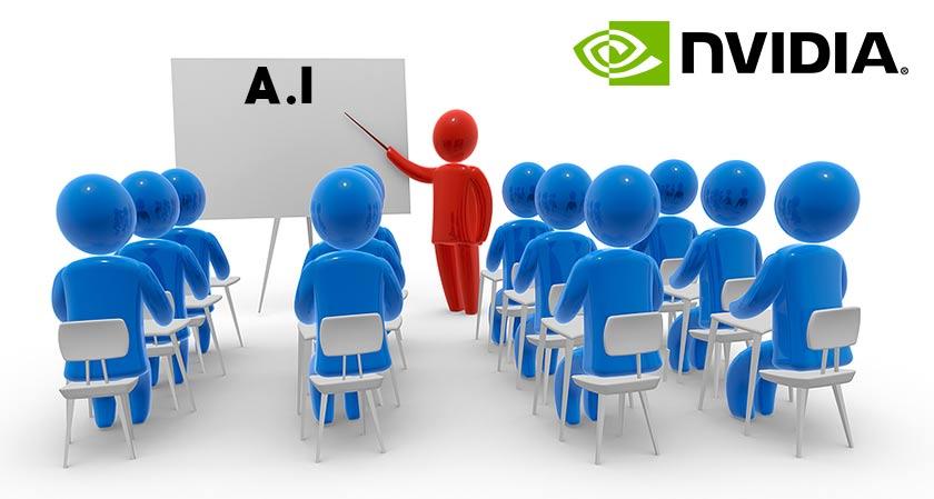 nvidia to train 100000 developers on ai