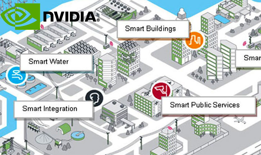 Nvidia to work with Alibaba and Huawei on Smart City platform