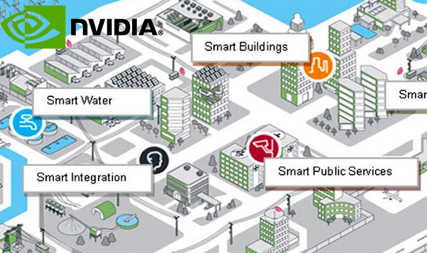 nvidia alibaba huawei work on smartcity