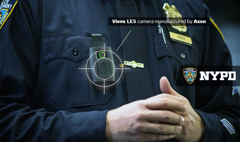 Body Cameras burst into flames; NYPD affected