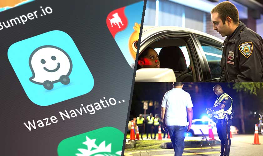 The NYPD writes to Waze, asks to stop posting DWI checkpoints