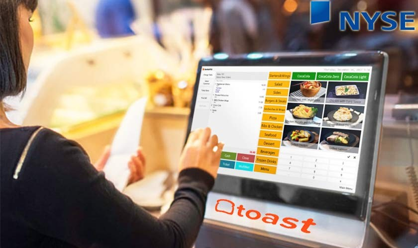 Restaurant POS and software makers Toast Inc.'s valued at nearly $33 billion after NYSE debut
