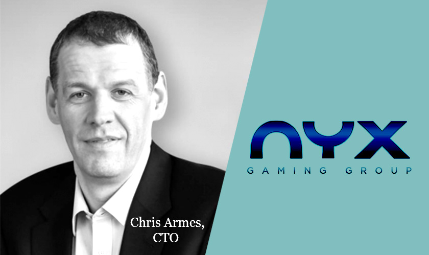 NYX appoints its new CTO Chris Armes