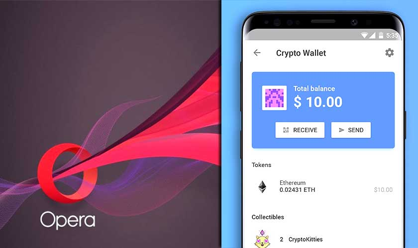 Opera brings crypto-wallet to its browser