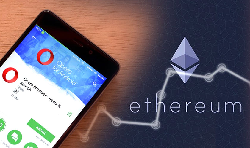 Opera's new Android Mobile Browser attracts Ethereum Blockchain Enthusiasts