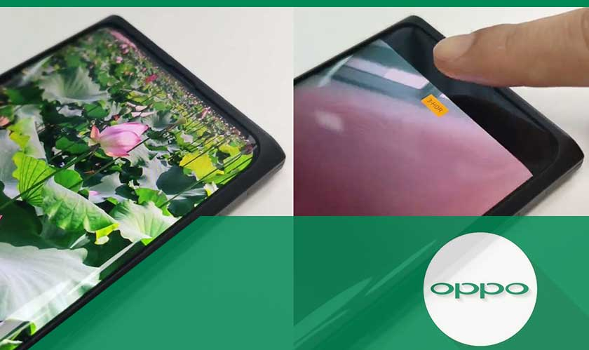 oppo under display selfie phone