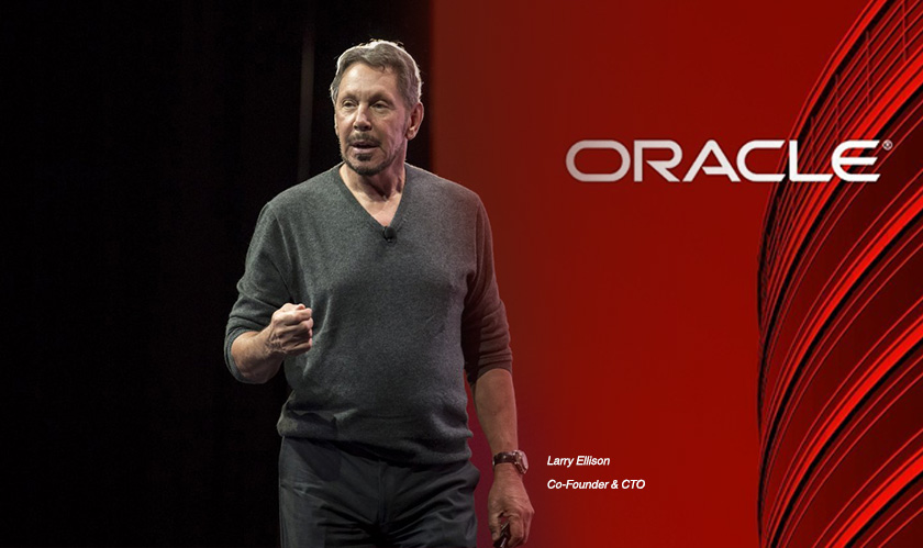 Larry Ellison launches the Autonomous Transaction Processing at Oracle event