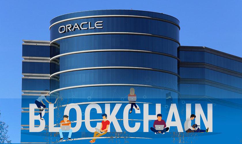 oracle blockchain digital ledger platform