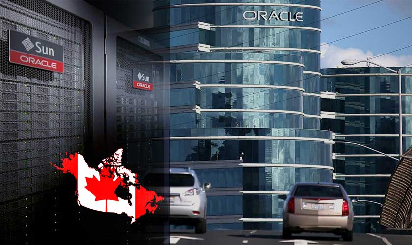 oracle data center in canada