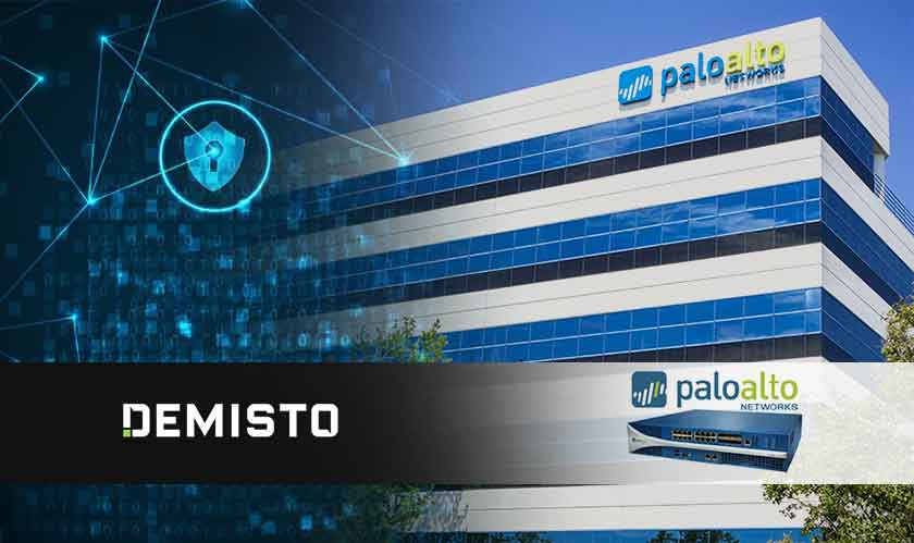 palo alto networks acquiring demisto