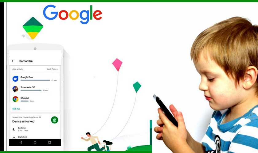 software family app tracks children move