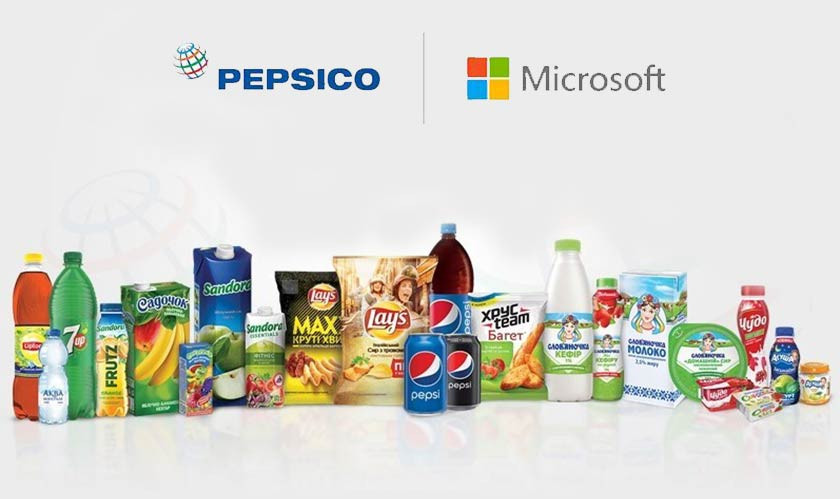 PepsiCo Partners with Microsoft, Inks a Five-Year Deal